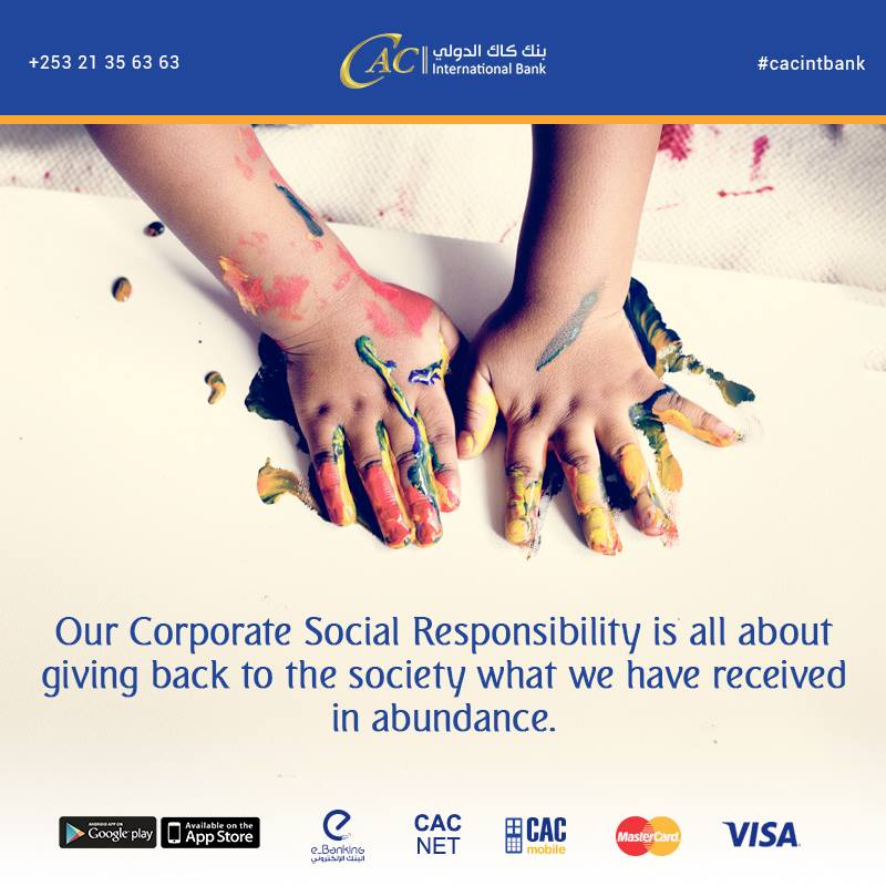 Corporate Social Responsibility for a better tomorrow.
